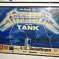 METALLICA & TANK, 04.12.1984 Sindelfingen (Poster)