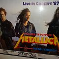 "Metallica ""Masters of Puppets Tour ´87"" Germany (Poster)"