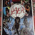Slayer POSTER Hell awaits / Live undead 1985