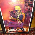 Megadeth POSTER Peace Sells ... 1986 Other Collectable