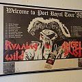 "Running Wild - Other Collectable - Running Wild ""Welcome to port royal tour ´89"" and ticket"