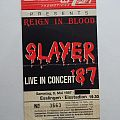 Slayer Poster & Ticket Esslingen 1987