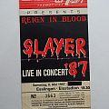 Slayer Poster & Ticket Esslingen 1987 Other Collectable