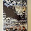"Sabaton ""World War Live"" (Poster)"