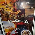 "Helloween - Other Collectable - Helloween ""Walls of Jericho & Keepers ..."" Poster 1987"