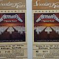 Metallica old Tickets 1987 Böblingen (Germany)