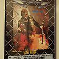 U.D.O. POSTER Tour 1988 Frankfurt