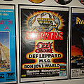 Scorpions - Other Collectable - Monsters of Rock 1986 POSTERS