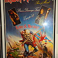 Iron Maiden POSTER Piece of Mind / Brain Damage Tour Europe 1983