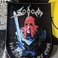 Sodom - In The Sign of Evil Woven Shield Patch