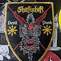 Shitfucker - Patch - Shitfucker Woven Shield Patch