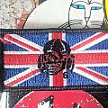 Death In June - Patch - Death in June Embroidered Union Flag Patch