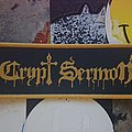 Crypt Sermon - Patch - Crypt Sermon Woven Patch