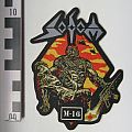 Sodom M16 Shaped Patch