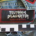 Teutonic Slaughter Album Patch