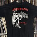Agnostic Front - TShirt or Longsleeve - Blind Justice European Tour Shirt