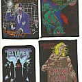 Patch - Megadeth, Paradise Lost, Cannibal Corpse and Testament patches