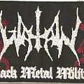 Watain - Black Metal Militia Supersized DWTMH strip patch!
