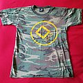 The Dillinger Escape Plan - TShirt or Longsleeve - Camo, yellow band name
