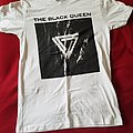 The Black Queen - TShirt or Longsleeve - White band name and logo shirt