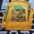 logo, bright yellow TShirt or Longsleeve