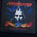 Annihilator - Never, Neverland patch '91