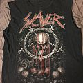 Slayer - TShirt or Longsleeve - Slayer Bleeding Skull cut-off shirt