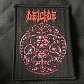 Deicide - Meddalion woven bootleg patch