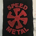 Speed Metal - Patch - DIY Speed Metal Swirl patch