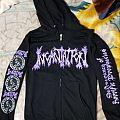 Incantation - Deliverance of Horrific Prophecies - hoodie Hooded Top