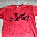 Blood Ceremony Logo Shirt M