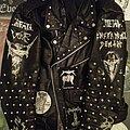 Vomitor - Battle Jacket - burnin' fukkin' leather