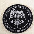 MANIAC BUTCHER - Patch - Maniac Butcher patch