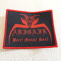 Abigail - Patch - Abigail - Beer Metal Sex Woven Patch