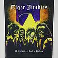 Tiger Junkies - Patch - Tiger Junkies Back Patch