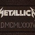 Metallica - Patch - jump in the fire stripe patch