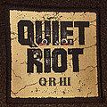 Quiet Riot - Patch - QR III Patch