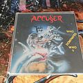 Other Collectable - Accuser/Accu§er  who dominates who? signed lp by Frank Thoms