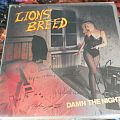 Other Collectable - Lions Breed-Damn the night lp signed