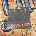 Other Collectable - Girlschool-Hit and run single lp