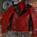 Kreator - Battle Jacket - red leather jacket