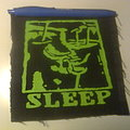 Sleep - Patch - d.i.y. hand painted sleep patch