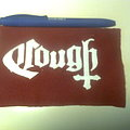 Cough - Patch - d.i.y. hand painted cough patch