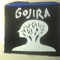 Gojira - Patch - d.i.y. hand painted gojira patch