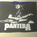 Pantera - Patch - d.i.y. hand painted pantera backpatch