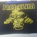 Nasum - Patch - d.i.y. hand painted nasum backpatch