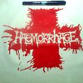 Haemorrhage - Patch - d.i.y. hand painted Haemorrhage backpatch