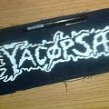 d.i.y. hand painted yacopsae patch