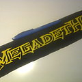 d.i.y. hand painted megadeth patch