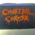 Cannibal Corpse - Patch - d.i.y. hand painted cannibal corpse patch